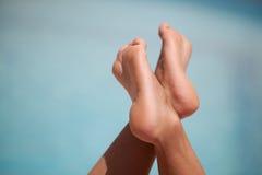 женский передний бассеин ног Стоковая Фотография