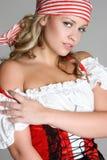 женский пират Стоковое Изображение RF