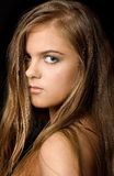 женский портрет Стоковое Изображение RF