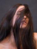 Женский портрет Стоковое Фото