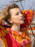 женский портрет Стоковые Фото