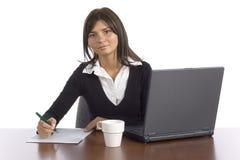 женский работник офиса стоковые изображения rf