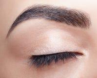Женский состав зоны глаза Стоковое фото RF