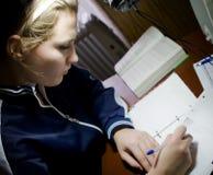 женский студент Стоковые Изображения