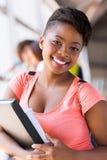 Женский студент колледжа стоковая фотография