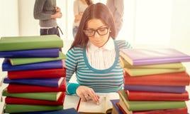 женский студент стоковое изображение rf