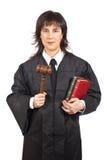 женский судья стоковые фотографии rf
