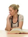 женский утомлянный студент Стоковая Фотография RF