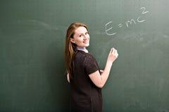 женский учитель Стоковые Фотографии RF