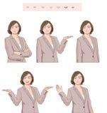 Женский характер бесплатная иллюстрация