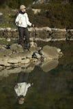 женский ходок Стоковые Фотографии RF
