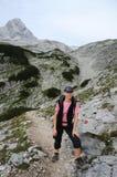 женский hiker стоковое фото rf