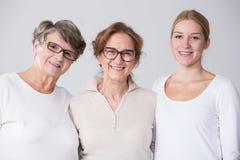 Женский multi портрет поколения Стоковые Изображения RF