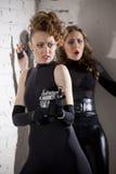2 женских шпионки Стоковые Фотографии RF