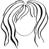 Женское изображение Стоковое Фото