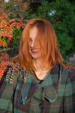 женское модельное напольное Стоковая Фотография