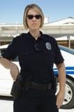 Женское полицейский Стоковая Фотография