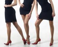 женственные ноги Стоковые Фото