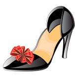 Женственные loafers Стоковые Фото