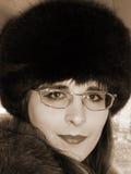 женственный портрет Стоковые Изображения RF