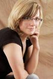 женственный портрет Стоковая Фотография