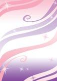 женственный шаблон рогульки Стоковое Изображение RF