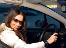 женщина автомобиля Стоковое фото RF
