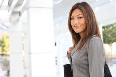 женщина азиатского дела милая Стоковое фото RF