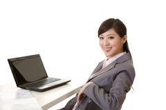 женщина азиатского дела сь стоковое изображение