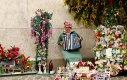 женщина аккордеони стоковое изображение rf
