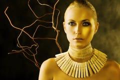 женщина Амазонкы Стоковое Изображение