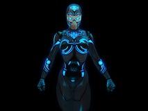 Женщина андроида Стоковые Изображения RF