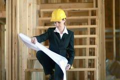 женщина архитектора Стоковое Изображение RF