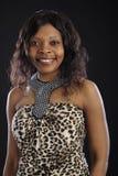 женщина африканского портрета сь стоковые фото