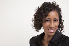 женщина африканца смещенная Стоковая Фотография RF