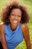 Женщина афроамериканца зрелая Стоковое фото RF