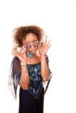 женщина афроамериканца милая Стоковое Фото
