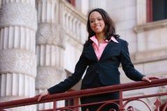 женщина афроамериканца профессиональная Стоковая Фотография RF