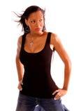 женщина афроамериканца сексуальная стоковые изображения rf