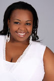 женщина афроамериканца Стоковые Изображения