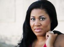 женщина афроамериканца Стоковые Фотографии RF