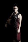 женщина баскетбола Стоковое Изображение RF