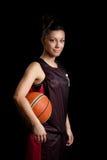 женщина баскетбола Стоковое Изображение