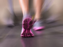 Женщина бегуна Стоковые Фото