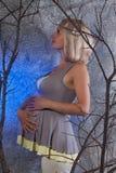 Женщина беременности Стоковое Изображение