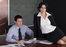женщина бизнесмена Стоковое Фото