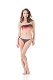 Женщина бикини лета сексуальная азиатская Стоковые Изображения RF