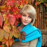 Женщина блондинкы Ashion Стоковая Фотография RF