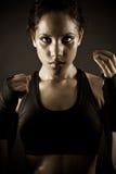 женщина боксера сексуальная Стоковые Изображения RF