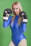 женщина боксера Стоковые Изображения